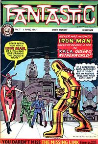 Cover Thumbnail for Fantastic! (IPC, 1967 series) #7