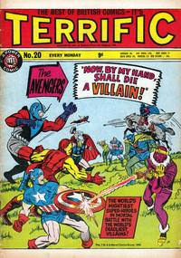 Cover Thumbnail for Terrific! (IPC, 1967 series) #20