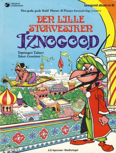 Cover for Iznogood (1977 series) #10