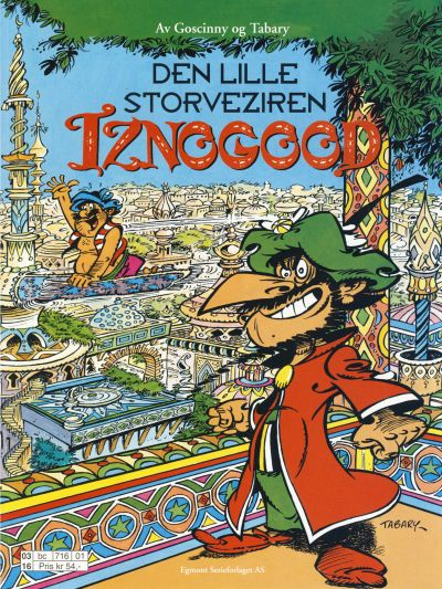 Cover for Iznogood (Egmont Serieforlaget, 1998 series) #10