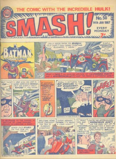 Cover for Smash! (IPC, 1966 series) #50