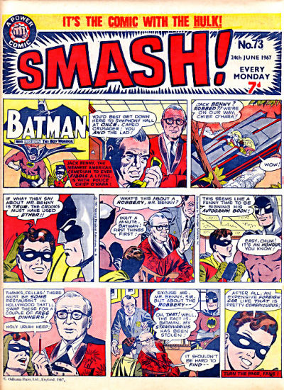 Cover for Smash! (1966 series) #73