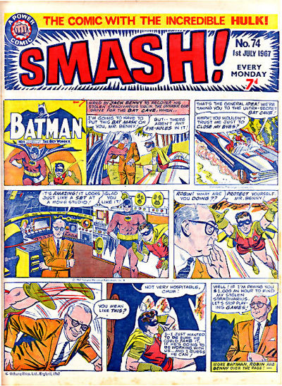 Cover for Smash! (IPC, 1966 series) #74