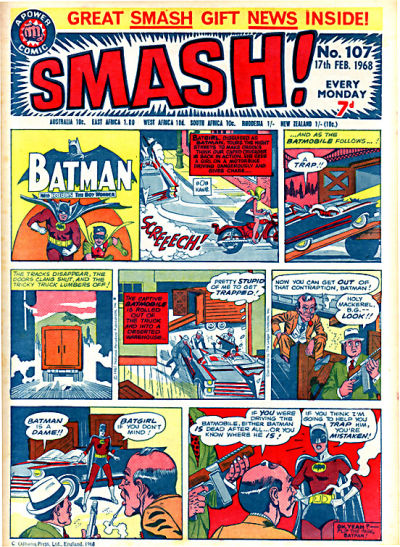 Cover for Smash! (IPC, 1966 series) #107