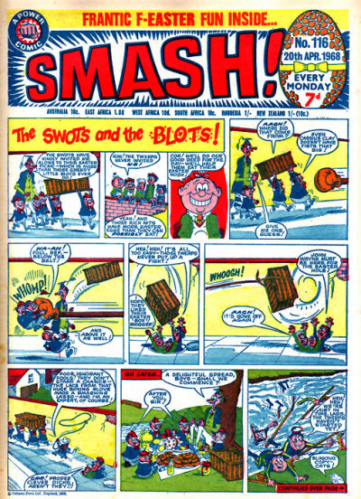 Cover for Smash! (IPC, 1966 series) #116