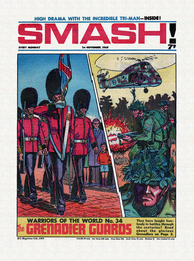 Cover for Smash! (IPC, 1966 series) #196