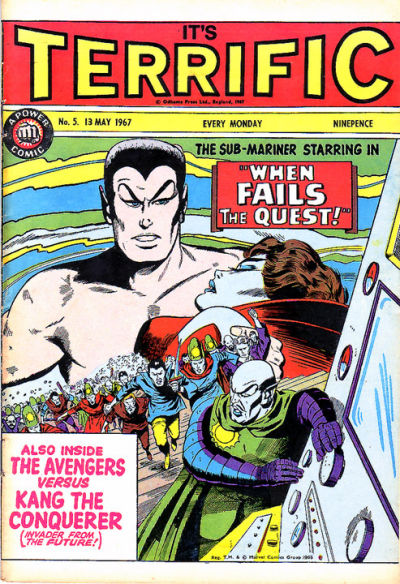 Cover for Terrific! (IPC, 1967 series) #5