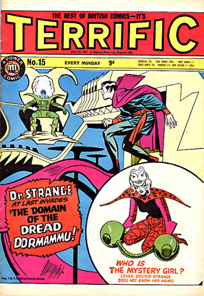 Cover for Terrific! (IPC, 1967 series) #15