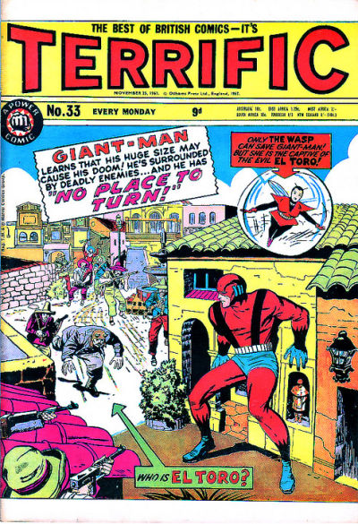 Cover for Terrific! (IPC, 1967 series) #33