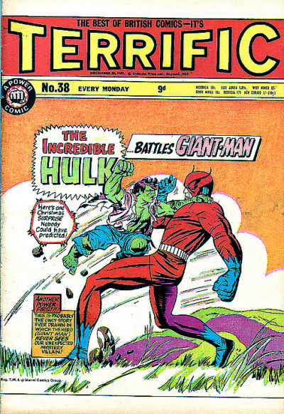Cover for Terrific! (IPC, 1967 series) #38