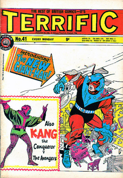 Cover for Terrific! (1967 series) #41