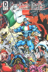 Cover Thumbnail for Capitan Italia (Down Comix, 1997 series) #2