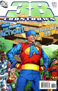 Cover Thumbnail for Countdown (DC, 2007 series) #38