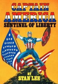 Cover Thumbnail for Captain America Sentinel of Liberty (Simon and Schuster, 1979 series) #[nn]