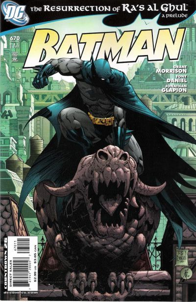 Cover for Batman (DC, 1940 series) #670 [Limited Edition Sketch Cover]
