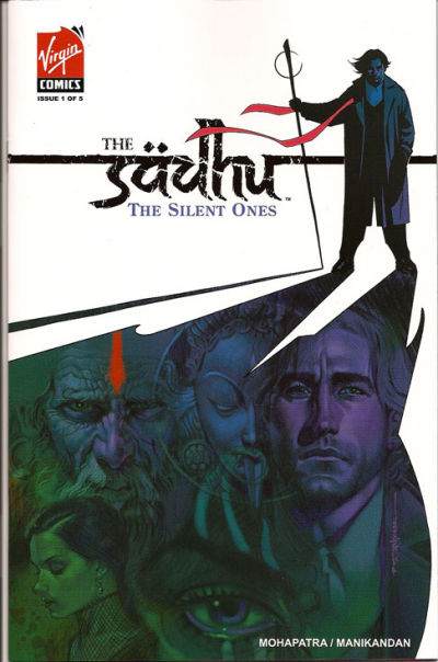 Cover for The Sadhu: The Silent Ones (Virgin, 2007 series) #1