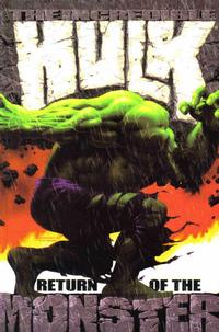 Cover Thumbnail for Incredible Hulk (Marvel, 2002 series) #[1] - Return of the Monster