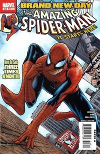 Cover for The Amazing Spider-Man (Marvel, 1999 series) #546 [Extremely Limited Sketch Variant Cover]