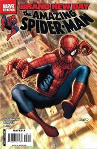 Cover Thumbnail for The Amazing Spider-Man (Marvel, 1999 series) #549 [Direct Edition]