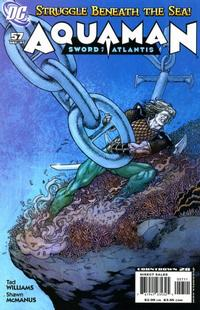 Cover Thumbnail for Aquaman: Sword of Atlantis (DC, 2006 series) #57
