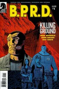 Cover Thumbnail for B.P.R.D.: Killing Ground (Dark Horse, 2007 series) #1