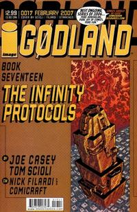 Cover Thumbnail for Godland (Image, 2005 series) #17