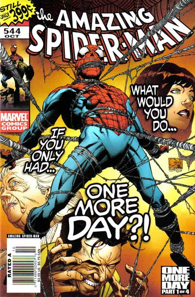 Cover for The Amazing Spider-Man (1999 series) #544