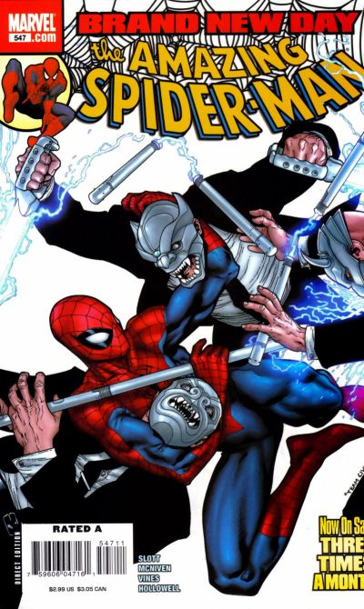 Cover for The Amazing Spider-Man (1999 series) #547
