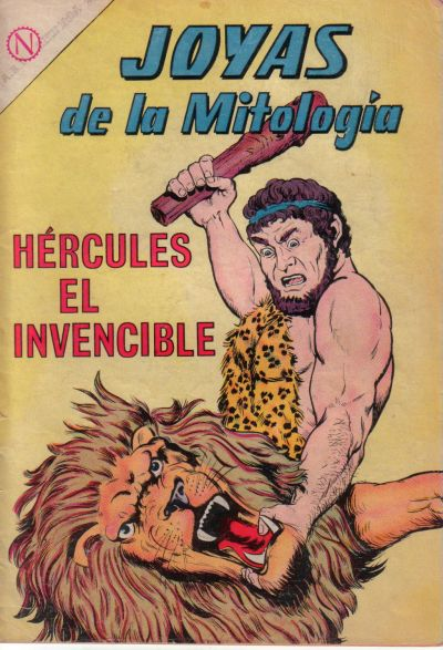 Cover for Joyas De La Mitologia (1962 series) #14
