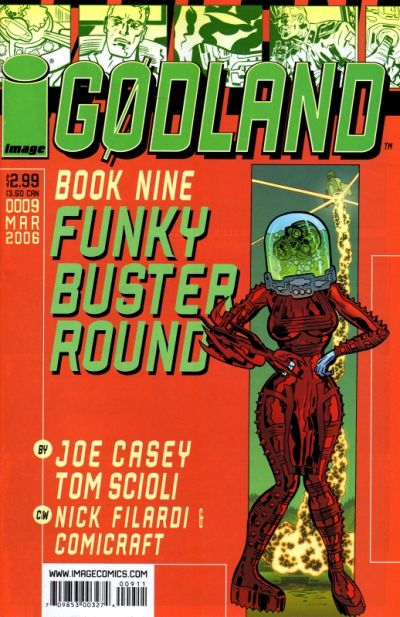 Cover for Godland (Image, 2005 series) #9