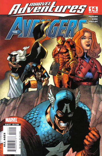 Cover for Marvel Adventures The Avengers (Marvel, 2006 series) #14