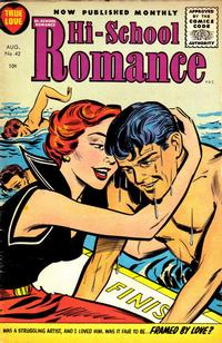 Cover Thumbnail for Hi-School Romance (Harvey, 1949 series) #42