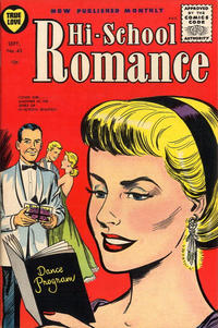 Cover for Hi-School Romance (Harvey, 1949 series) #43