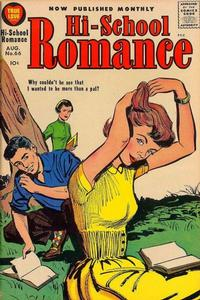 Cover Thumbnail for Hi-School Romance (Harvey, 1949 series) #66