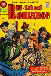 Cover Thumbnail for Hi-School Romance (Harvey, 1949 series) #69