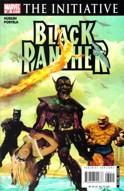 Cover for Black Panther (Marvel, 2005 series) #30