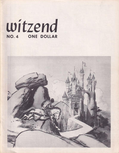 Cover for Witzend (Wallace Wood, 1966 series) #4
