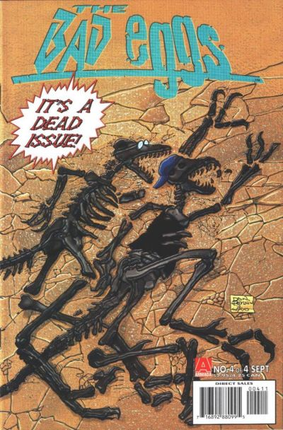 Cover for The Bad Eggs (Acclaim / Valiant, 1996 series) #4