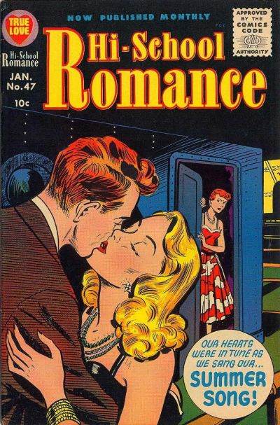 Cover for Hi-School Romance (Harvey, 1949 series) #47