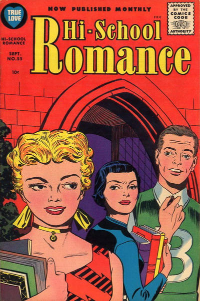 Cover for Hi-School Romance (1949 series) #55