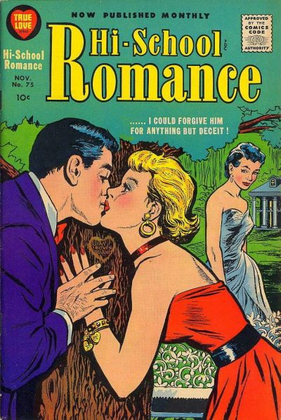 Cover for Hi-School Romance (Harvey, 1949 series) #75