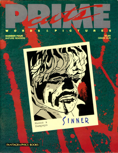 Cover for Prime Cuts (Fantagraphics, 1986 series) #4