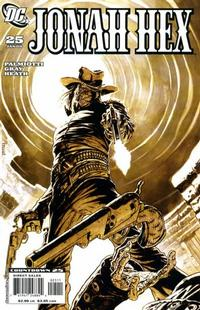 Cover Thumbnail for Jonah Hex (DC, 2006 series) #25