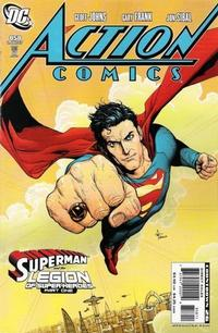 Cover Thumbnail for Action Comics (DC, 1938 series) #858 [Direct Market Standard Cover]