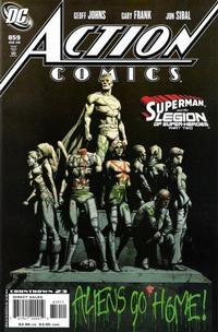 Cover Thumbnail for Action Comics (DC, 1938 series) #859 [Direct Market Standard Cover]