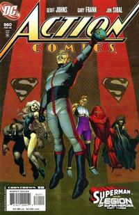Cover Thumbnail for Action Comics (DC, 1938 series) #860 [Direct]