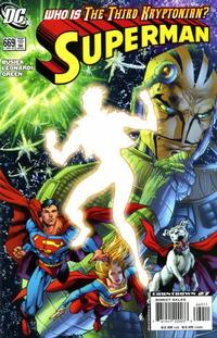 Cover for Superman (DC, 2006 series) #669