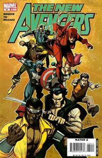 Cover Thumbnail for New Avengers (Marvel, 2005 series) #34