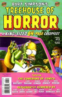 Cover Thumbnail for Treehouse of Horror (Bongo, 1995 series) #13