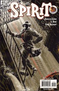 Cover Thumbnail for The Spirit (DC, 2007 series) #10